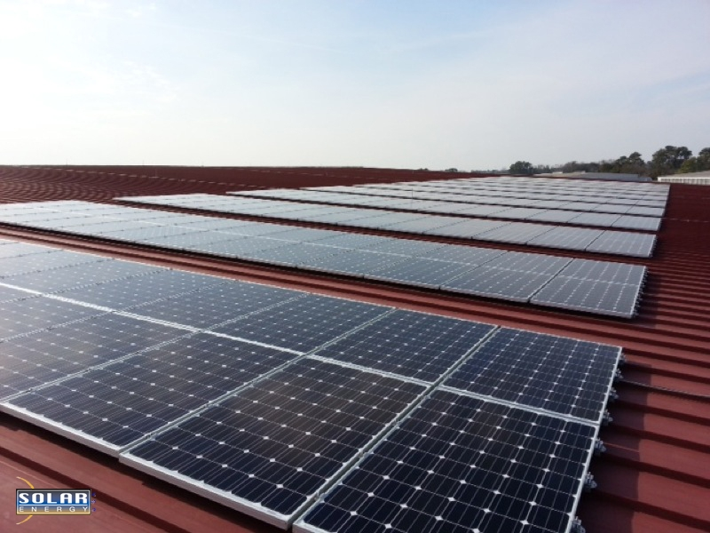 403 PV Solar Panels Now Power The GA National Guard In Savannah Thanks To Solar Energy USA