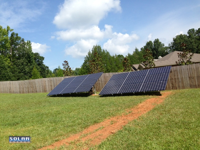 Solar PV Panel Home Install Cataula, Georgia