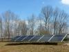 Solar panel install ground mount NC