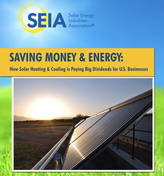 A new SEIA report shows how solar thermal is being implemented across America.