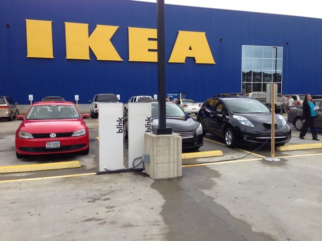 ikea atlanta has 4 new ev charging stations