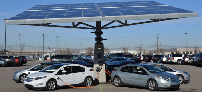 As Electric Vehicles Gain Pority More Drivers Utilize Solar For Recharging