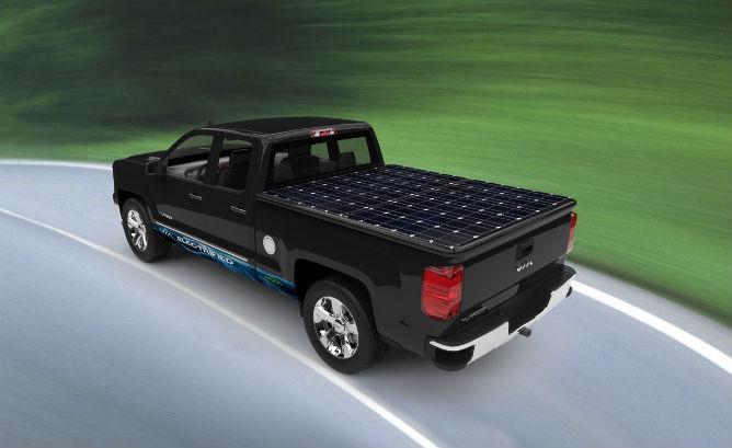 solar truck Gallery