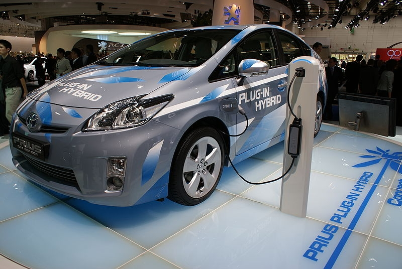 Toyota Prius Plug In Hybrid Electric Vehicle
