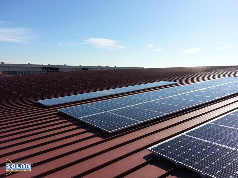 Pv Solar Panels On Metal Roof 2 Copy